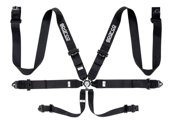 "Sparco 6 Point 3"" Steel Seat Belt Harness"
