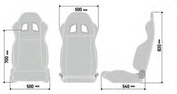 Sparco R100 Tuner Seat