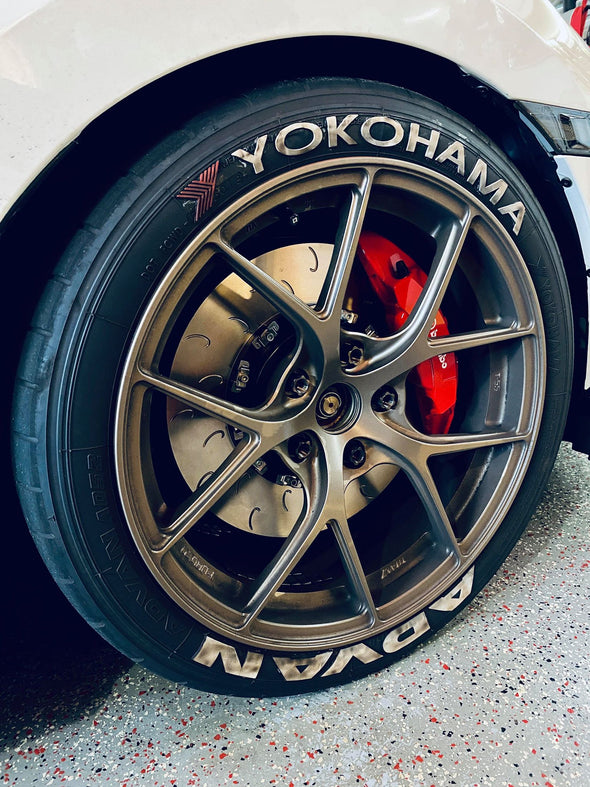 In use Ballade Sports 2015+ Civic Type R FK2/FK8 Front Floating Rotor Kit