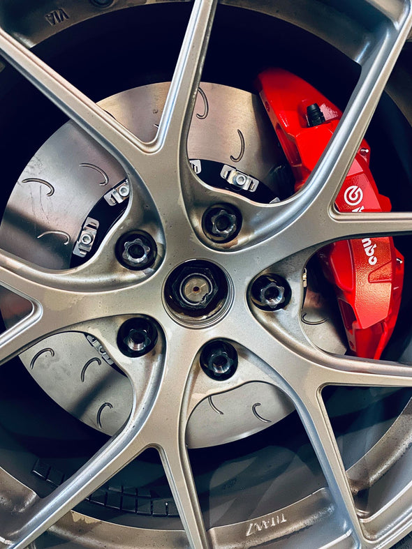 Detail Ballade Sports 2015+ Civic Type R FK2/FK8 Front Floating Rotor Kit