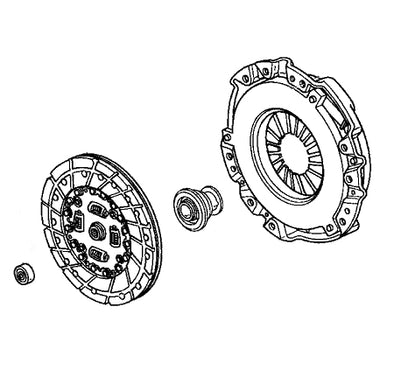 Honda OEM 00-09 S2000 Clutch Kit
