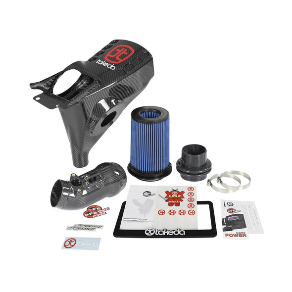 AFE Power 17+ Civic Type R Takeda Black Series Carbon Fiber Momentum Pro 5R Cold Air Intake System