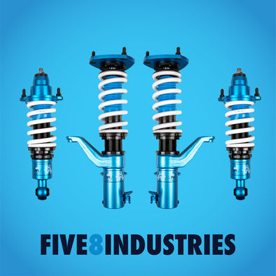 Five8 Industries 01-05 Honda Civic EM2 / ES1 / EP3 Si Coilover Kit