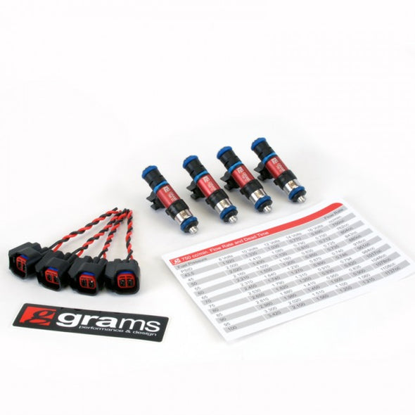Grams Performance 00-05 S2000 Injector Set
