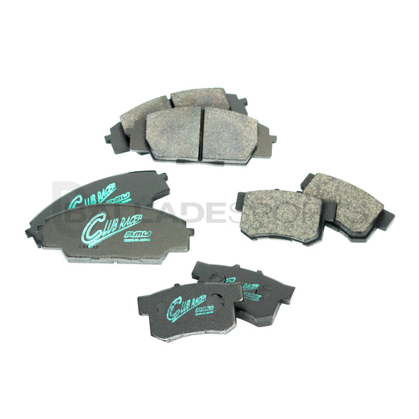 Project Mu Club Racer 00-09 S2000 Front & Rear Brake Pad Combo