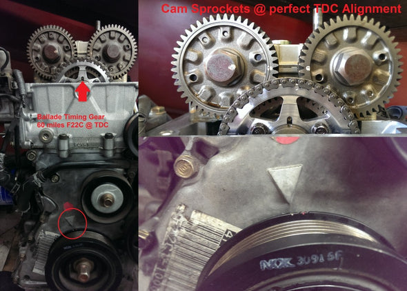 Ballade Sports Timing Chain Tensioner & Timing Gear Combo