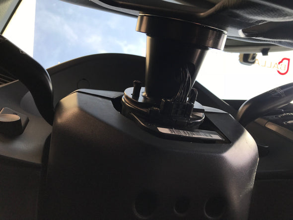 In use Ballade Sports Aluminum Steering Wheel Hub