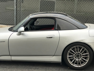 ViS Racing 00-09 S2000 (Mugen) Carbon Hardtop w/ Tempered Glass