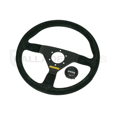 Momo MOD 78 330mm / 350mm Suede Steering Wheel