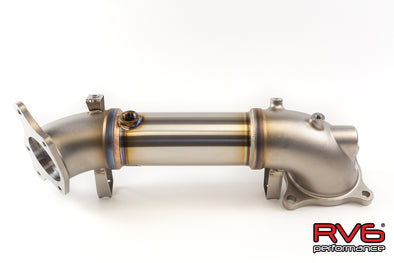 RV6 Performance 19+ RDX Turbo Catless Downpipe