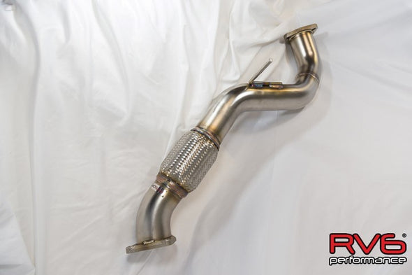 RV6 Performance 2017+ Civic Type R FK8 Catted Downpipe / Front Pipe Combo