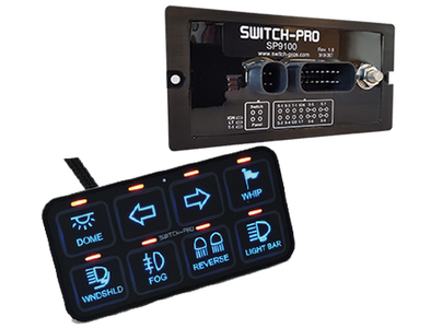Switch- Pros SP9100 8 Switch Panel