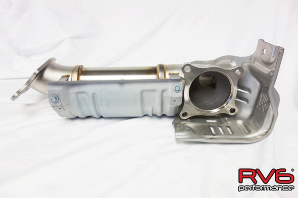 RV6 Performance 2017+ Civic Type R FK8 Catless Downpipe