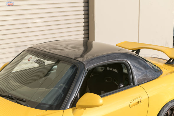 ViS Racing 00-09 S2000 (Amuse) Carbon Hardtop w/ Tempered Glass