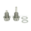 Vaikhari USA M14x1.5 Titanium Magnetic Drain Bolts Set