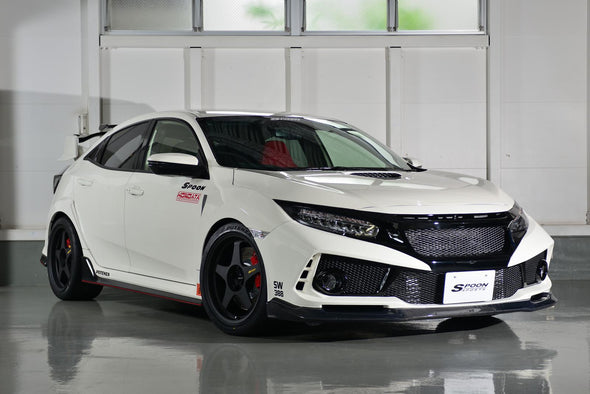 Spoon Sports 17+ Civic Type R FK8 Front Aero Bumper