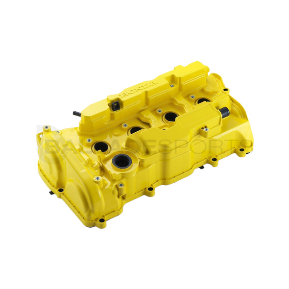 Spoon Sports 17+ Civic Type R FK8 Yellow Valve Cover