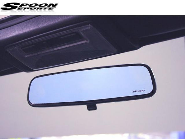Spoon Sports Blue Wide View Mirror