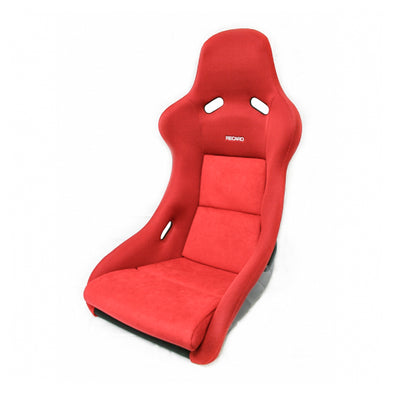 Recaro Pole Position Jersey Red w/ Red Suede