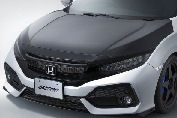 Spoon Sports 16+ Civic FK7 Carbon Hood Bonnet (MT/CVT)