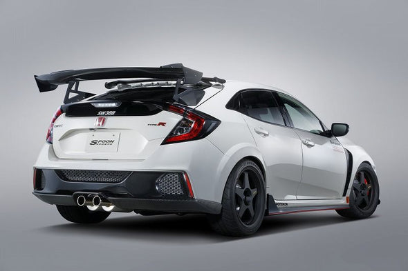 Spoon Sports 17+ Civic Type R FK8 3DGT Carbon Wing