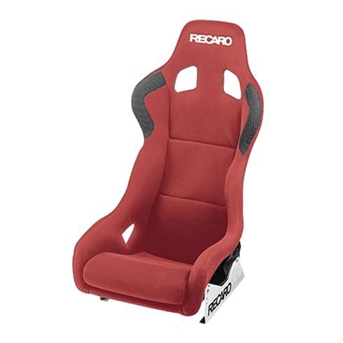 Recaro Profi XL Velour Red Bucket Seat