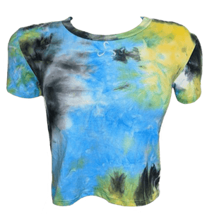 Tie-Dye Crop Top - Women's - See Size Description