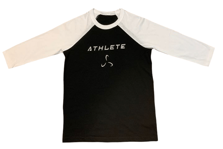 YOUTH 3/4 SLEEVE ATHLETE TEE