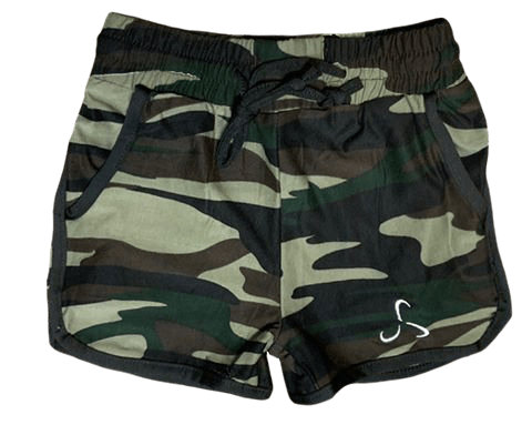 Toddler Camo Shorts - Valor Fitness Clothing