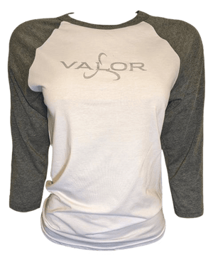 Women's Valor Baseball Tee - 3 Color Options