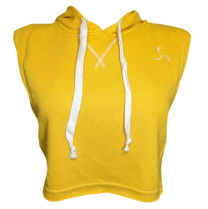 Ringside Crop Top Muscle Hoodie