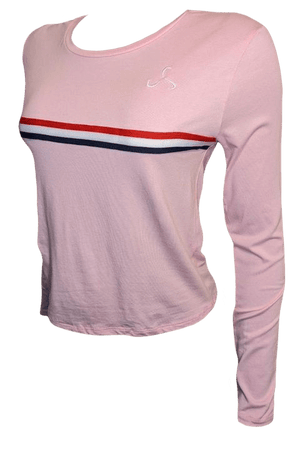 Women's Pink Long Sleeve