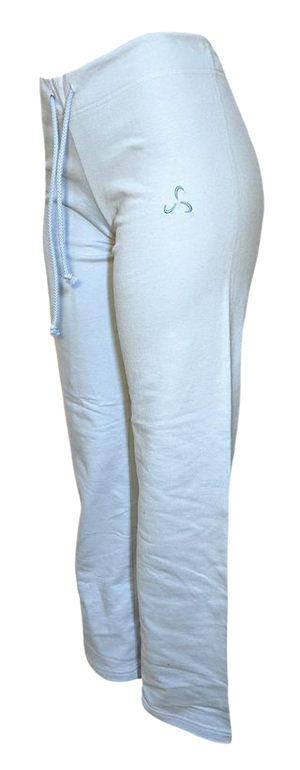 Straight Legged Sweatpants Baby Blue - No Pockets