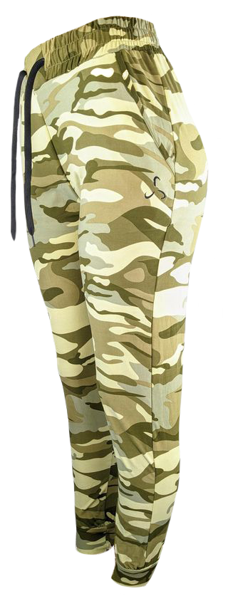 Light Green Camo Joggers