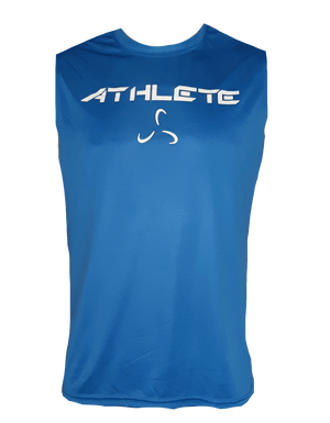 MEN'S SLEEVELESS ATHLETE DRI FIT - 3 COLOR OPTIONS