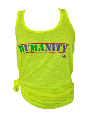 WOMAN'S HUMANITY TANK TOP