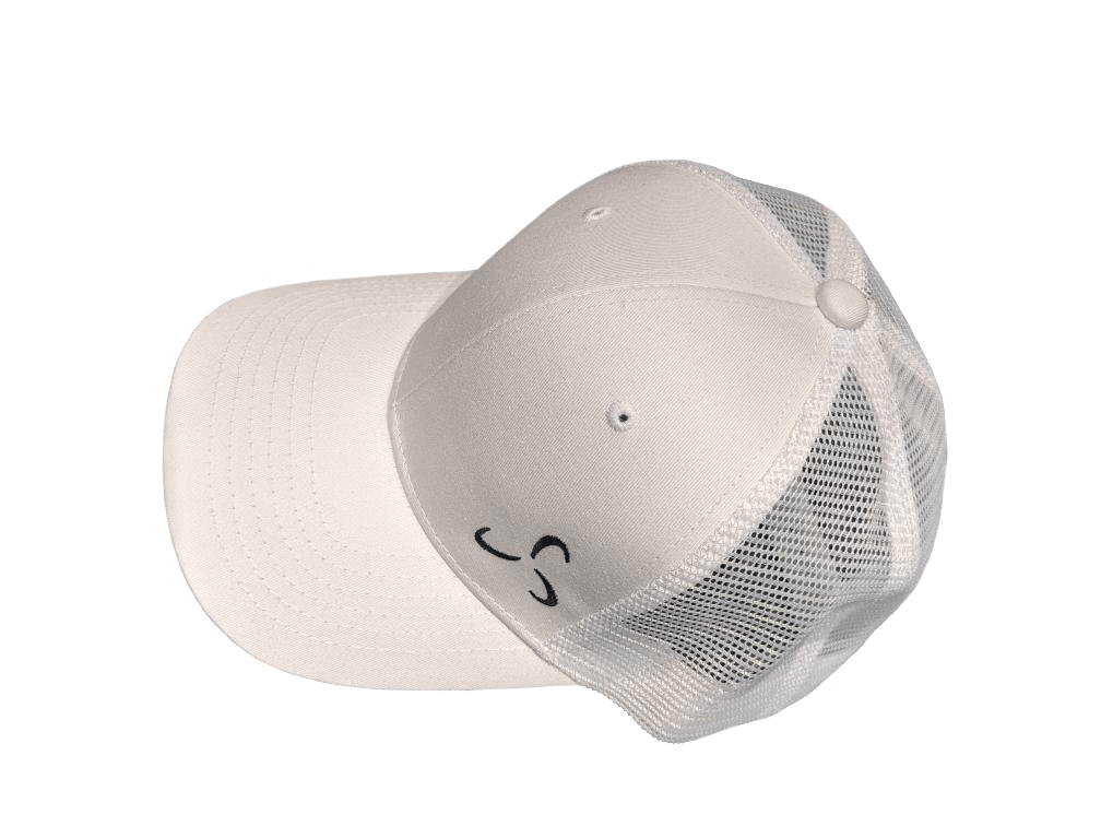 All White Snapback Side Logo - Valor Fitness Clothing