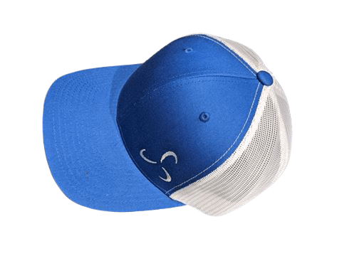Side Logo Blue Hat - Snapback