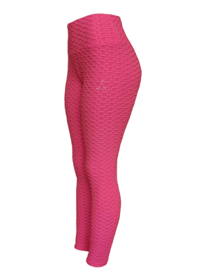 Women's Textured High Waisted Leggings - 5 Color Options