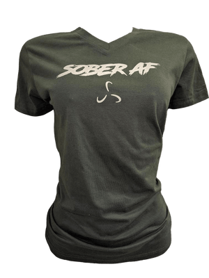 WOMEN'S KAVA SOBER AF T-SHIRT - 3 COLOR OPTIONS
