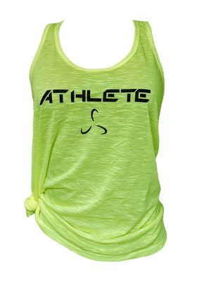 Women's Flare Bottom Athlete Tank Top - 4 Color Options