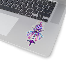 Load image into Gallery viewer, Magical Unicorn Mace Sticker