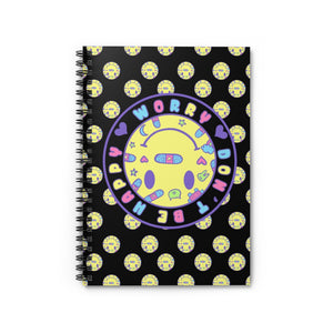 Worry, Don't Be Happy Notebook