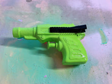 Load image into Gallery viewer, Green Fun Squirt Gun  Hair Clip