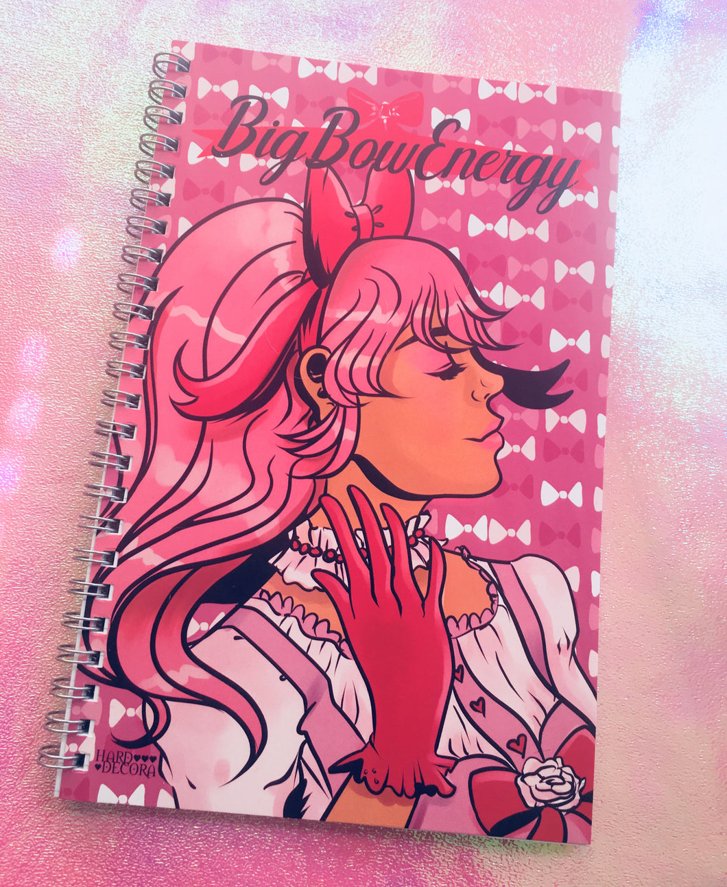Big Bow Energy Notebook