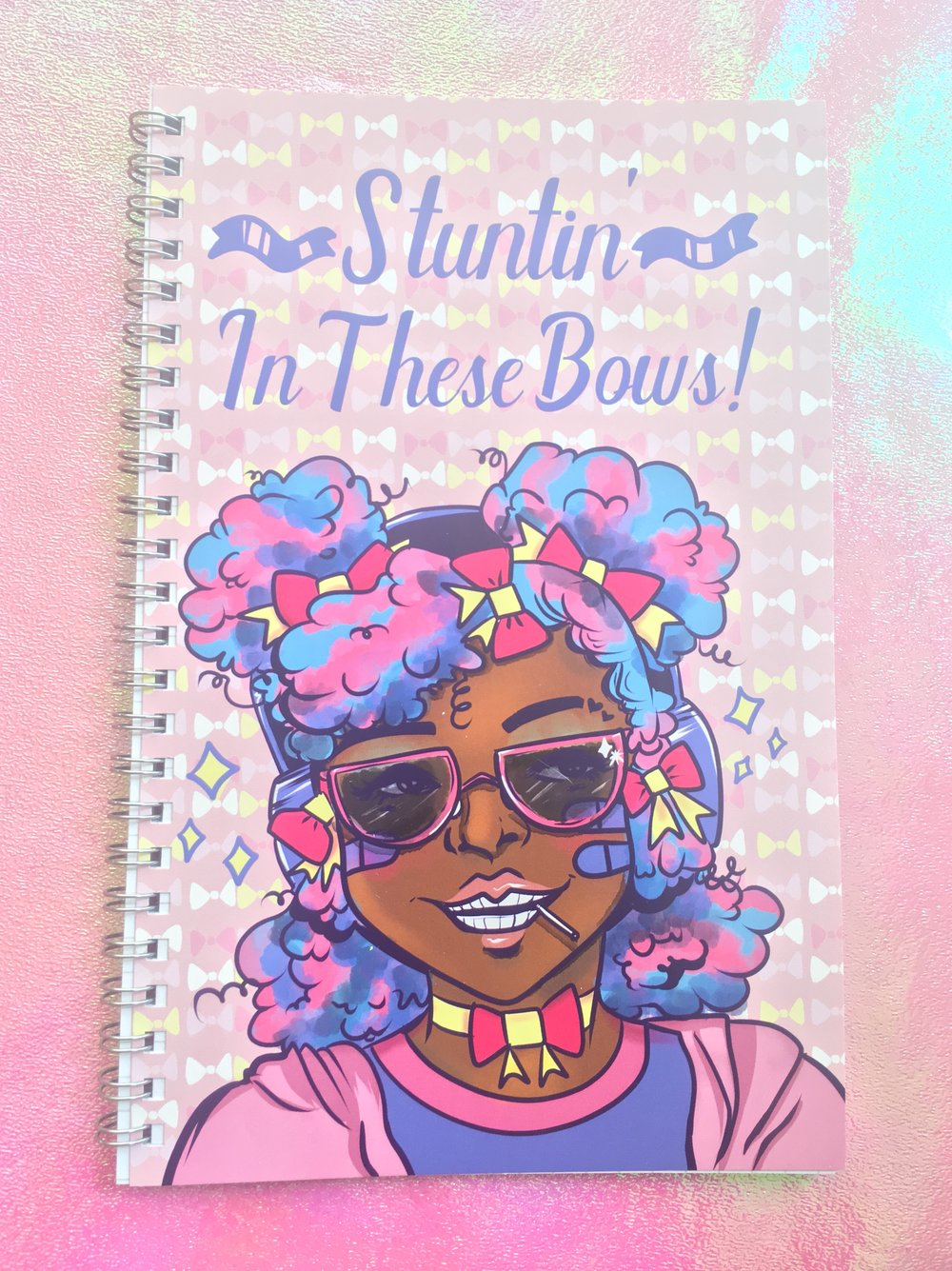 Stuntin' In These Bows Notebook