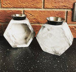 Marble Effect Wax Burner - The Starlight Candle Company