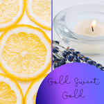 Gold Sweet Gold Blend - The Starlight Candle Company