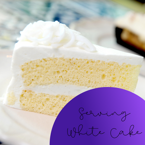 Serving White Cake Wax Melt - The Starlight Candle Company