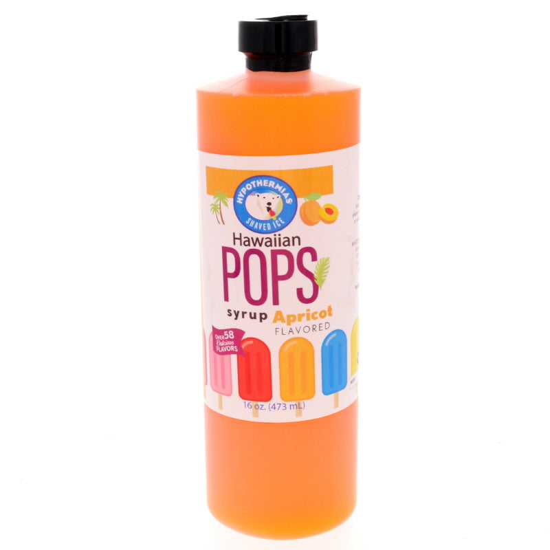 Apricot Hawaiian Pop Ready to Use Syrup